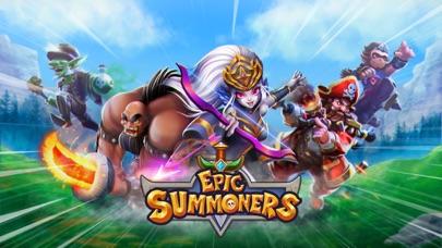 Epic Summoners: モンスター戦争RPG バトルのスクリーンショット1