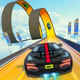 Car Stunt Race - Ramp Car Game
