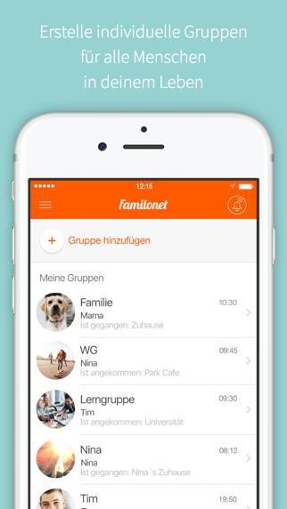 FAMILO Finde Familie, FreundeScreenshot von 3
