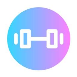 Fitness Workout Log Calendar