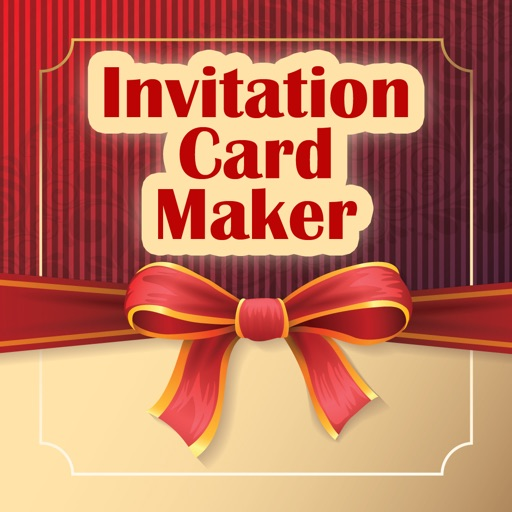 Invitation card maker ecards app data review photo video invitation card maker ecards app logo stopboris Image collections