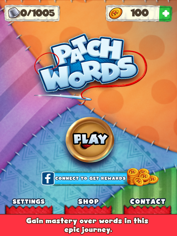 Patch Words - Word Puzzle Game screenshot #1