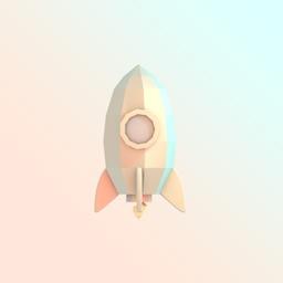 PolyRocket Asteroid Runner