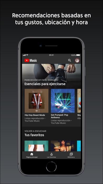 Screenshot for YouTube Music in Peru App Store