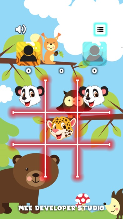 Classic Tic Tac Toe -Animal XO screenshot three