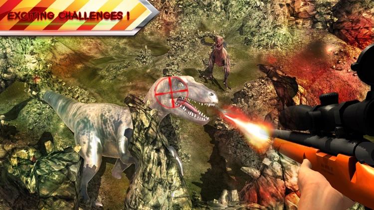 Dino Sniper Hunter Survival 3D screenshot-3