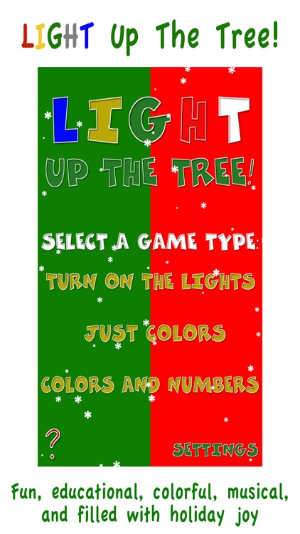 Light Up The Tree - Christmas
