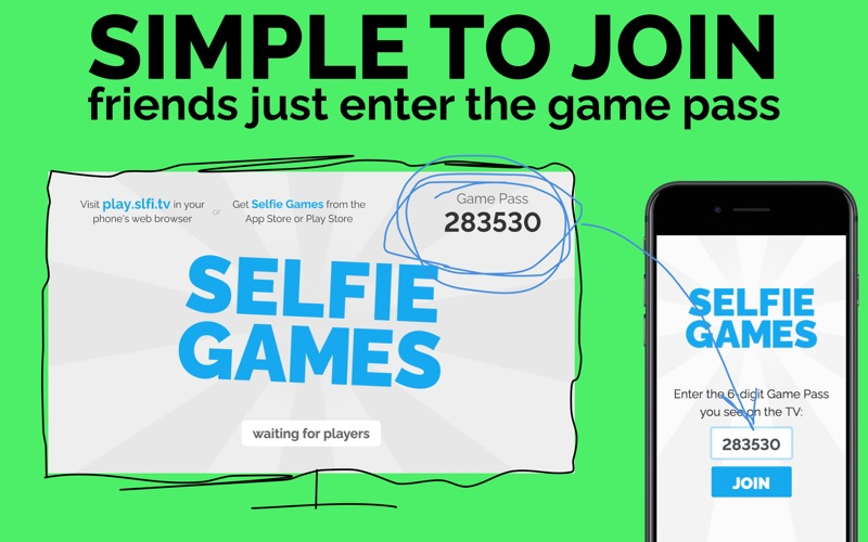 Selfie Games [TV]: Party Game for Mac