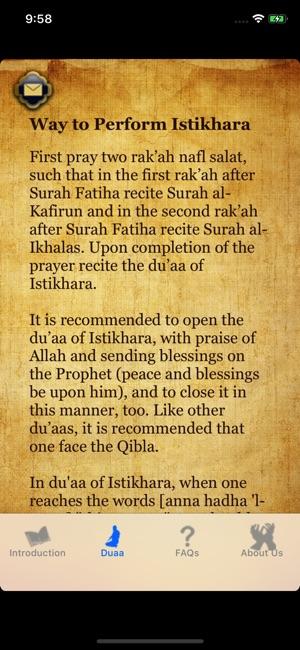 Istikhara du'aa - Guide Prayer on the App Store