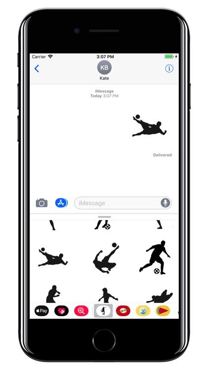 Soccer stickers - Football WC screenshot-4