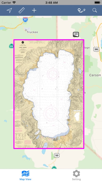 Lake Tahoe – Boating Maps