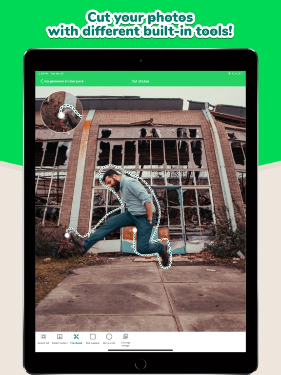 Sticker Maker Studio iPad app afbeelding 2