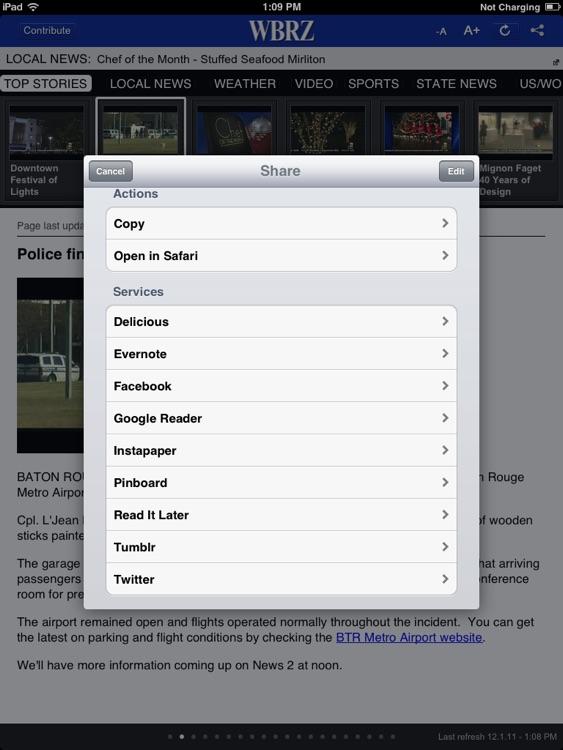 WBRZ for iPad screenshot-3