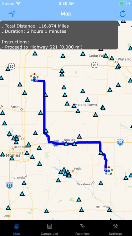 Iowa – Camping & RV spots screenshot-2