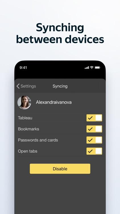Yandex Browser screenshot-6