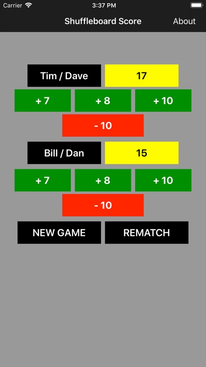 Shuffleboard Score Keeper screenshot-0