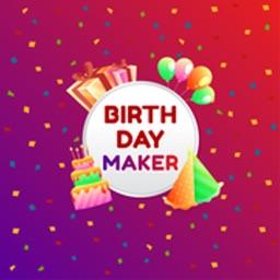 Birthday Card Maker - Editor