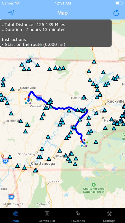 Tennessee – Camping & RV spots screenshot-2