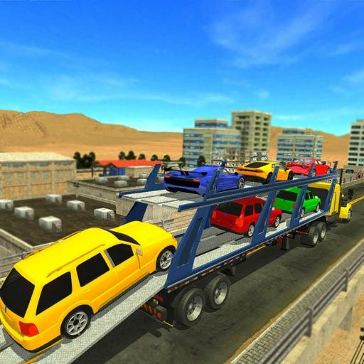 Army Car Transporter Truck 3D