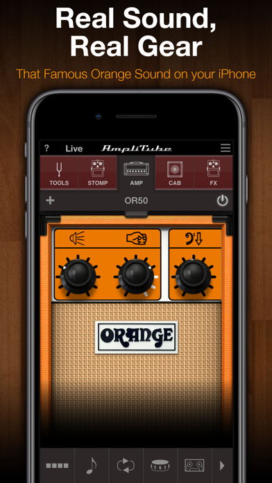 Screenshot #1 pour AmpliTube Orange