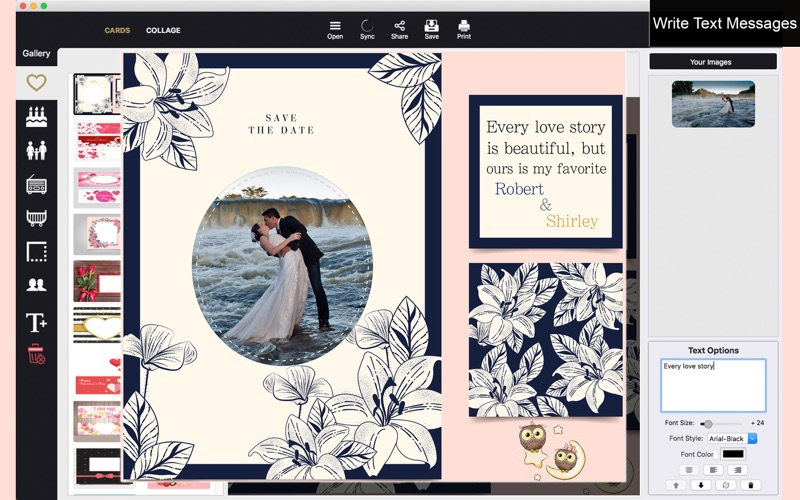 Pic Collage Creator - Cards screenshot 2