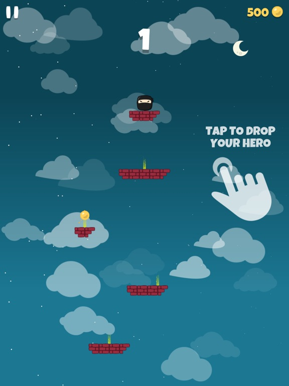 Falling Hero ! screenshot 8