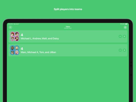 Ipad Screen Shot Scorecard: Point Tracker 3
