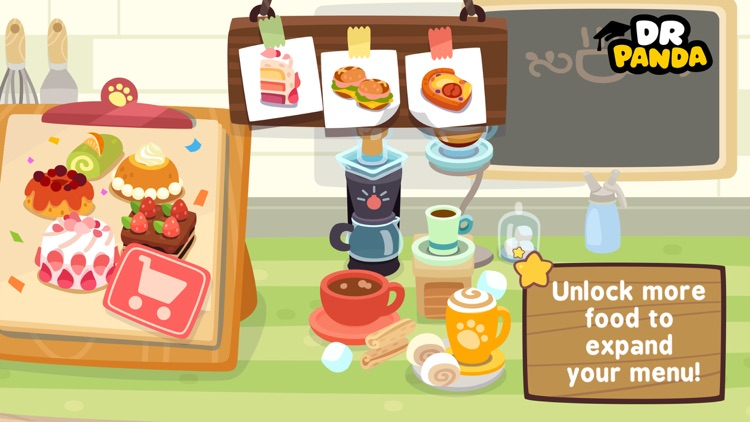 Dr. Panda Cafe screenshot-3