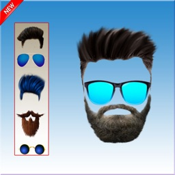 Men Beard & Hairstyle Editor