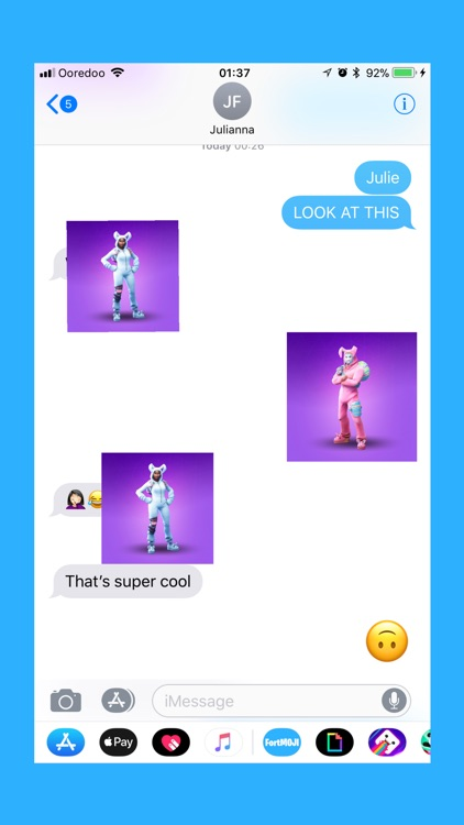 FortMOJI - Fortnite Stickers screenshot-2