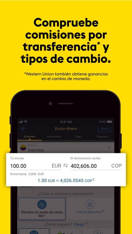 Transferencia Western Union®