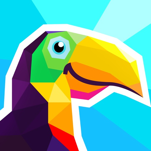 Poly Artbook - puzzle game app for ipad