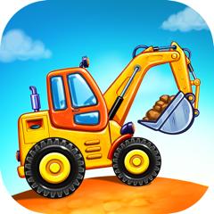 Игры для Детей Трактор Строить