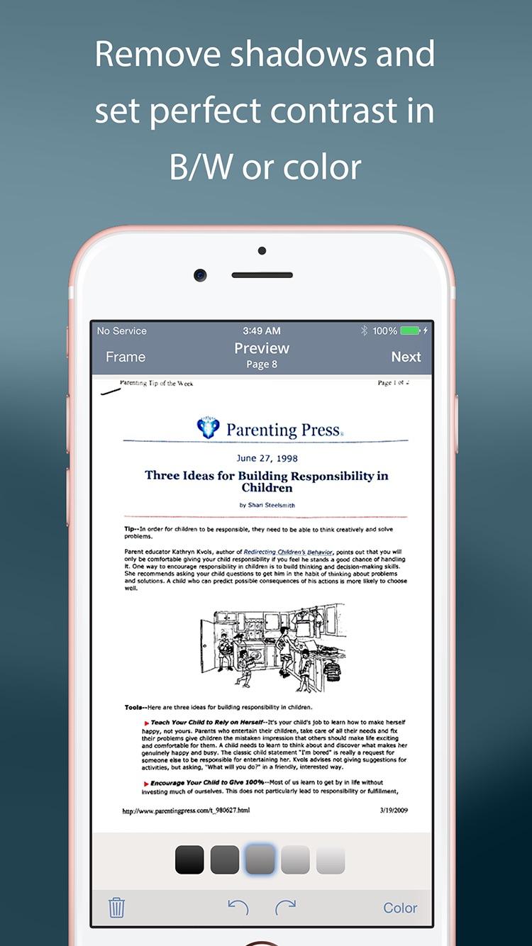 TurboScan™ Pro: PDF scanner Screenshot