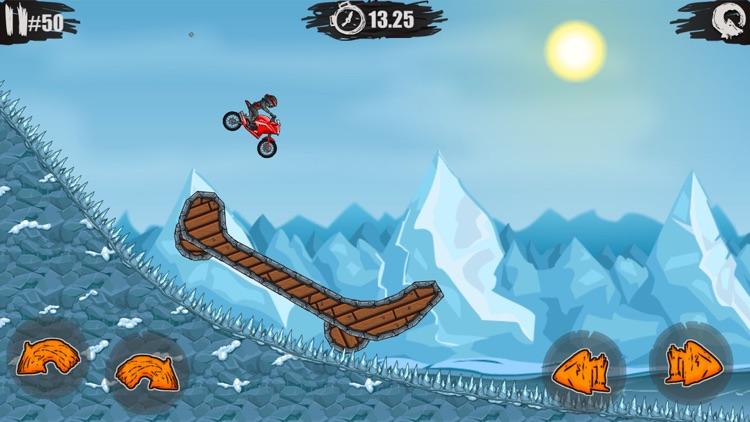 疯狂特技摩托 - 全民赛车漂移游戏 screenshot-3