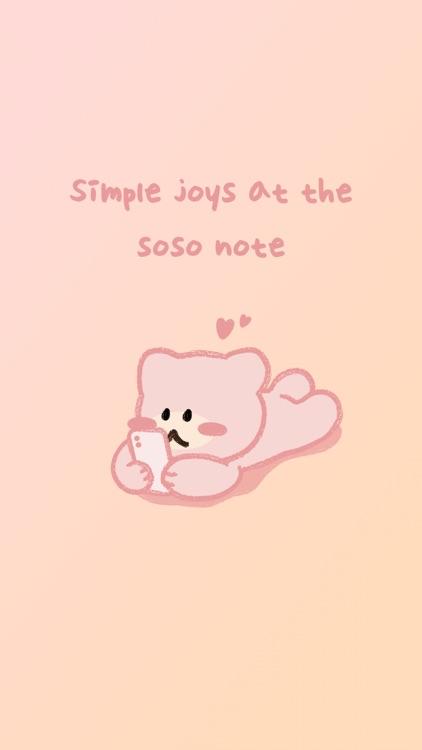soso note - daily journal screenshot-7