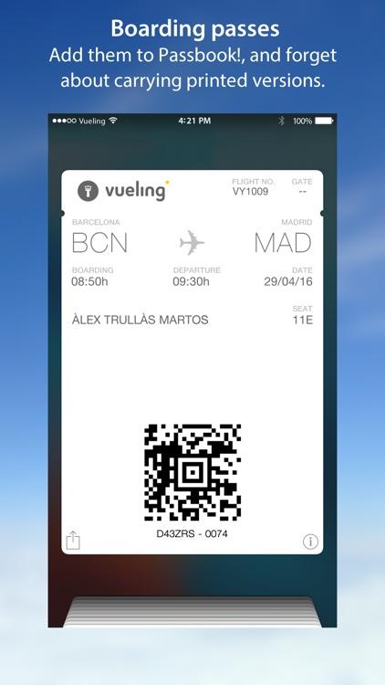 Vueling Airlines-Cheap Flights screenshot-4