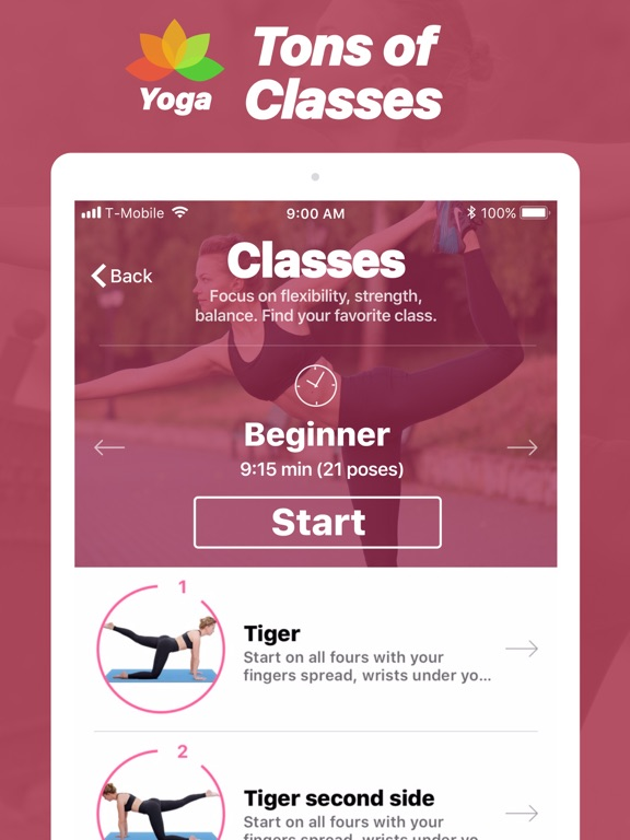 Yoga - Poses & Classes Screenshots