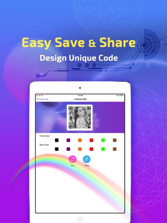 Get Royal Followers' QR Code-ipad-2