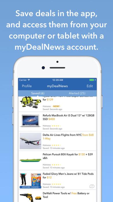 DealNews Deals & Coupons App Screenshot