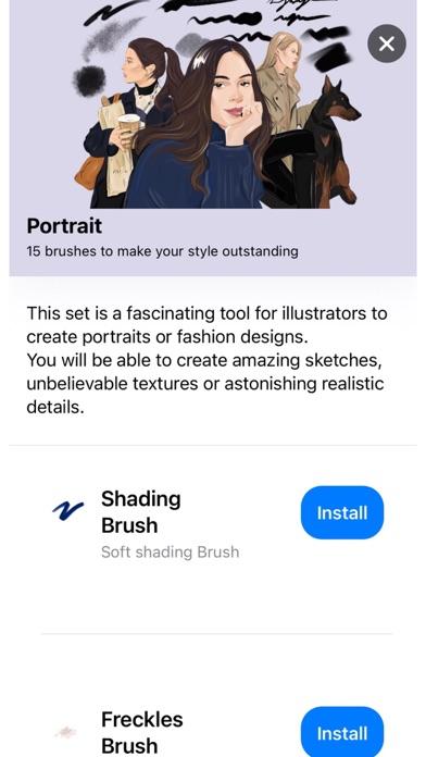Скриншот №2 к Tools for Procreate