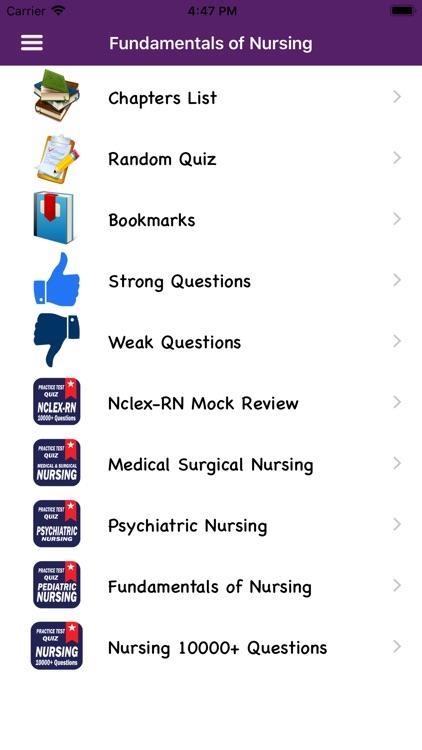 Fundamentals of Nursing Mock