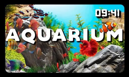 Aquarium TV Screen