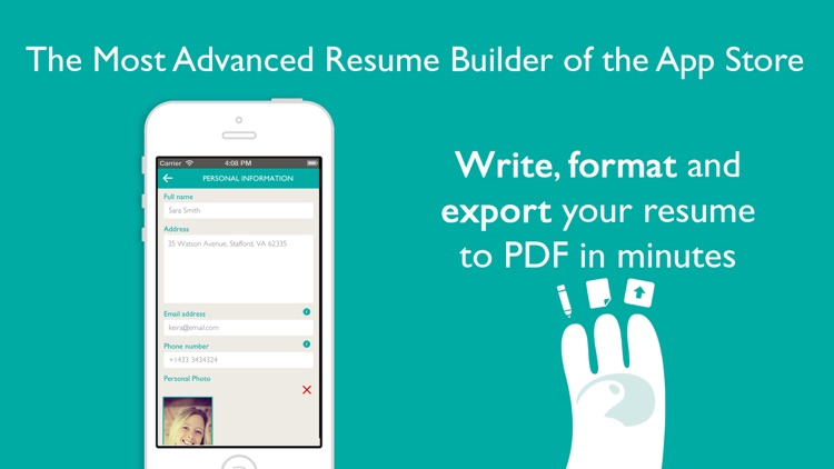 Resume Designer Pro screenshot-1
