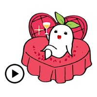 Animated Charming Radish Emoji