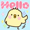 Sticker of Tori-san