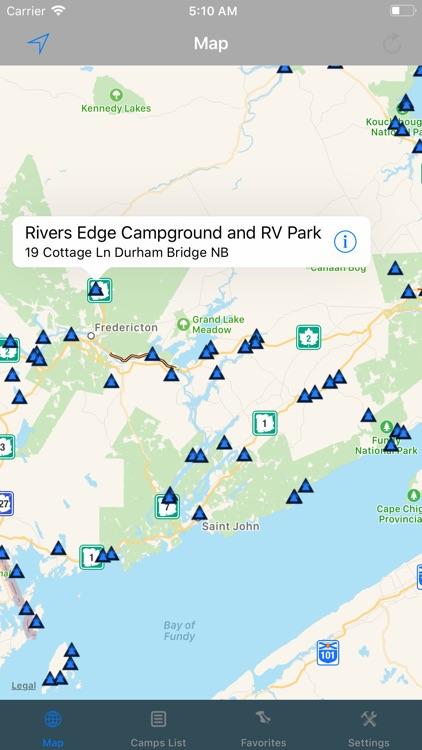 New Brunswick – Camping & RV's