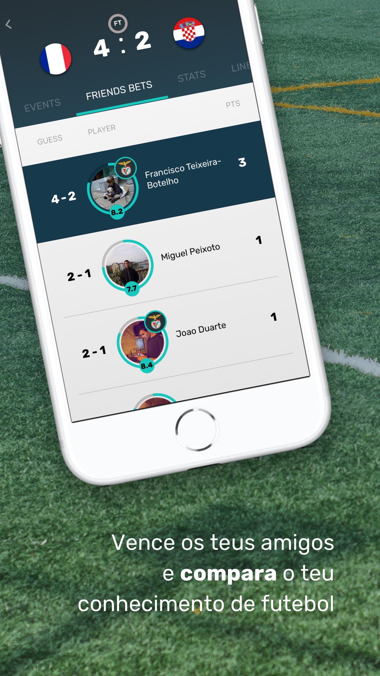 Screenshot do app Bolão Copa América 2021 | KMS