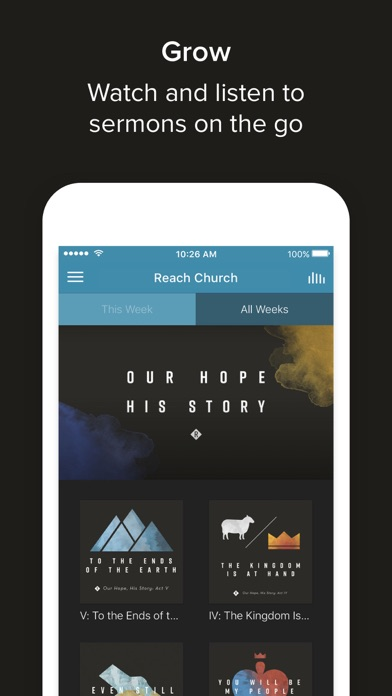 The Church App screenshot 2