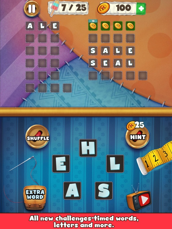 Patch Words - Word Puzzle Game screenshot #8